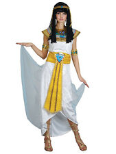 Adult Ladies Princess Cleopatra Egyptian Queen Of The Nile Fancy Dress Costume