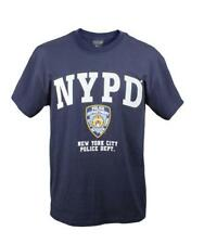 T- Shirt NYPD Officially Licensed Tee shirt Navy Blue