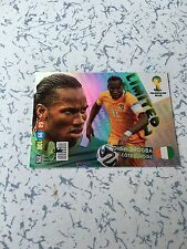 Rare Panini Adrenalyn XL World Cup 2014 Limited Edition Card Didier Drogba