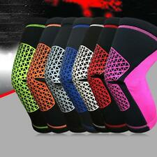 Colorful Warm Knee Protector Sports Tendon Training Elastic Knee Brace Supports