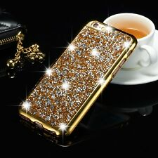 Diamond Glitter Silicone Shockproof TPU case cover For Apple iPhone 5 SE 6 6S