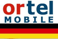 NEW, Ortel GERMAN, PREPAID SIM card. MICRO/STD or NANO size. Connection pack. #