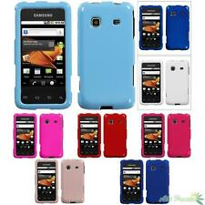 Snap On Hard Phone Case Cover For SAMSUNG M820(Galaxy Prevail) Solid Colors