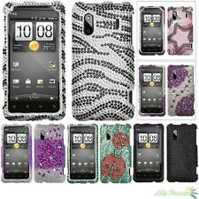 Hard Bling Case Cover For HTC EVO Design 4G, ADR6285(Hero S), Hero 4G/Kingdom