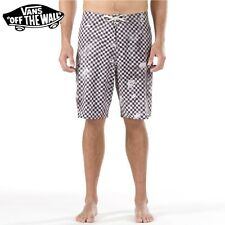 "VANS Boardshort MAN Costume New Mens ""Era Stretch"" NEW BOARD SHORT Surfing BK/WH"