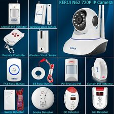 KERUI N62 HD IP Camera Wireless Home House Security Burglary Intrude Alarm Siren