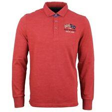 New Zealand Auckland NZA Men's Polo Rugby Shirt Uni red 16GN202 614 red
