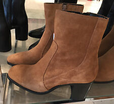 ZARA LEATHER HIGH HEEL ANKLE BOOTS 35-41 REF. 7105/101
