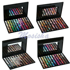 HOT 88 Colours Eye Shadow Eyeshadow Palette Matte Shimmer Makeup Set + Mirror M