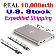 Eighty Plus 10000mAh USB Type C Quick Charge Power Bank for Phone & Tablet PC G2