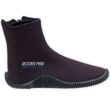 OceanPro 3mm Molded Sole Venture Booties for Scuba Diving & Snorkeling All Sizes