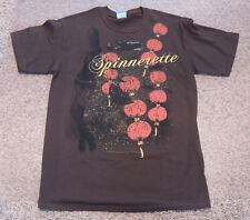 Men's Spinnerette T-shirt Brody Dalle The Distillers New Brown