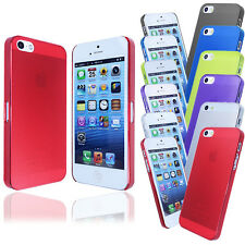 New Transparent Ultra Thin 0.5mm Case Cover FOR iPhone 5G