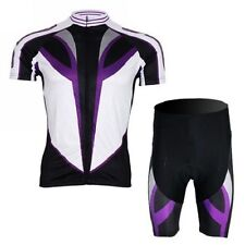 XINTOWN Men's Cycling Jerseys Comfortable Outdoor Bicycle Jerseys Sets+Bib Short