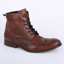 H by Hudson Angus Wash Mens Boots Tan New Shoes