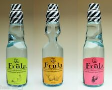 Frula Ramune Drink Fruit Flavored Choice of 3 Mango Lychee or French Pear Japan