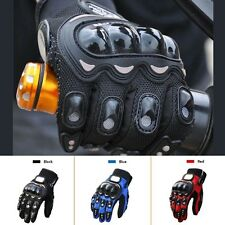 PRO-BIKER MOTORCYCLE LEATHER THERMAL WINTER MOTORBIKE GLOVES M XL XXL