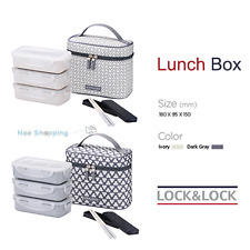 Lock&Lock Clover Combo Lunch Box set  HPL754CD