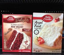 Betty Crocker ~ Delights or Super Moist Cake Mixes – Assort. Varieties!