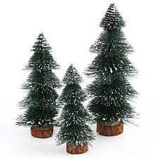 Xmas Small Artificial Christmas Tree Festival Party Ornaments Gift Decor 17-22cm