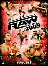 WWE: Raw - The Best of 2009 (DVD, 2010, 3-Disc Set)