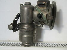 ANTIQUE CARBIDE LAMP MADE BY POWELL AND HAMMER NAMED