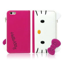 Hello Kitty Galaxy S5, S4 Case Wallet Cover Coin Purse Mirror Clutch 3Colors