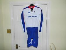 MENS GB OLYMPIC Team Issue LS Skinsuit - cycling bike padded shorts
