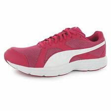 Puma Axis 4 Mesh Running Shoes Womens Red/White Run Fitness Trainers Sneakers