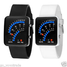 Women Mens Lover Watches Multicolor LED Digital Sport Rubber Wrist Watch Gifts