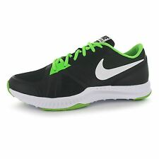 Nike Air Epic Speed Training Shoes Mens Black/White/Green Gym Trainers Sneakers