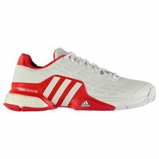 adidas Mens Gents Barricade Boost Trainers Laces Fastened Light Tennis Footwear