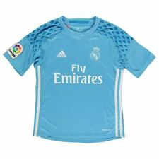 adidas Childs Real Madrid Goal Keeper Shirt 2016 2017 Boys Sport Clothing