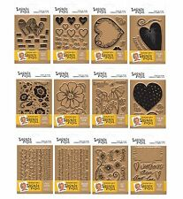 Crafters Companion Leonie Pujol ENTWINED COLLECTION Clear Stamp Sets