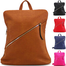 Fashion Kids/Adult/Teenager Faux Leather Backpack Rucksuck Bag-Back to School