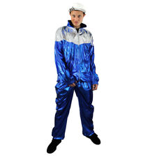 1980'S SCOUSER COSTUME TRACKSUIT SHELL SUIT CHAV MENS 80'S SCOUSE FANCY DRESS