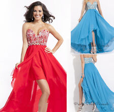 New Long Chiffon Formal Gown Prom Party Cocktail Bridesmaid Evening Dress 6-16