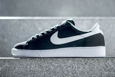 NIKE TENNIS CLASSIC CASUAL SHOES LEATHER Black/White 312495 011 Mens Sneakers