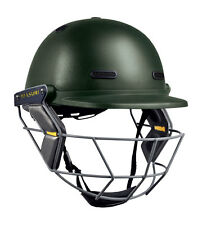 MASURI VISION CLUB SENIOR Steel Cricket Helmet 2016 (Large Green)