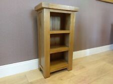Kingsford SOLID OAK NARROW BOOKCASE 50cm Fully Assembled Living Dining Furniture