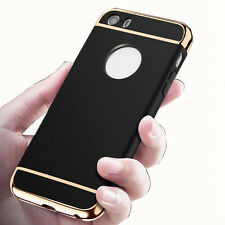 Shockproof Plating Bumper Full Acrylic PC Protect Case Cover for iPhone6 6s Plus