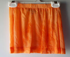 TUTU COUTURE Girls SHEER TIE DYE Swimsuit Cover Up Leotard BRIGHT ORANGE Skirt
