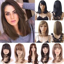 Wigs Long Curly Layer Full Head Wigs Cosplay Party Daily Fancy Dress Vogue Hair