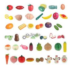 Wooden Magnet Fruit Vegetable Kitchen Food Kids Childrens Pretend Role-play Toy