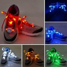 Fashion LED Light Up Sports Shoe Laces Party Disco Club Sneakers Shoelaces