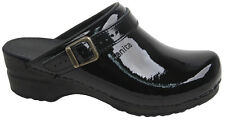 Sanita 'Freya Patent' Flexible patent Clogs (Art: 457548) - Black