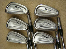 Mizuno MP-57 forged irons 5-PW Project X 5.5 Steel Shafts 2* FLAT