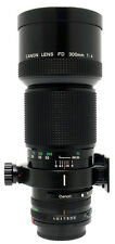 Canon FD 300mm F4 Lens. Filter For Canon FD