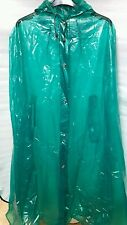Pvc plastic raincoat mac Cape