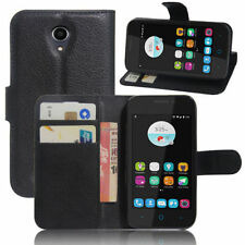New Leather PU wallet flip stand pouch Cover Case For ZTE Blade A110 / ZTE A112